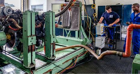 4.5 Engine Dyno-Testing Facility